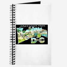 Washington DC Greetings Journal