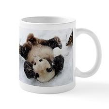 Panda in Snow Mug