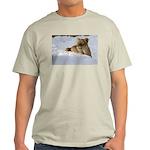 Female Lion in Snow Light T-Shirt