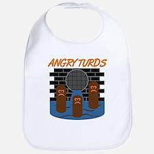 Angry Turds Bib