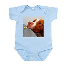 Candy corn dog Infant Bodysuit