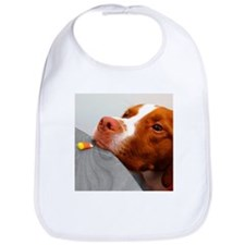 Candy corn dog Bib
