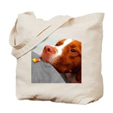 Candy corn dog Tote Bag