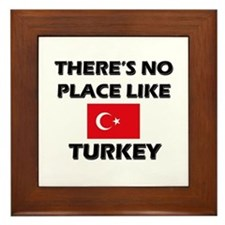 There Is No Place Like Turkey Framed Tile