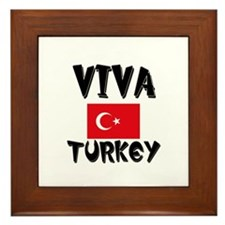 Viva Turkey Framed Tile