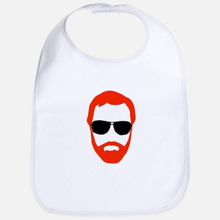 BeardoGlasses Bib