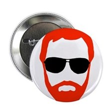 "BeardoGlasses 2.25"" Button"