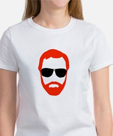 BeardoGlasses Women's T-Shirt