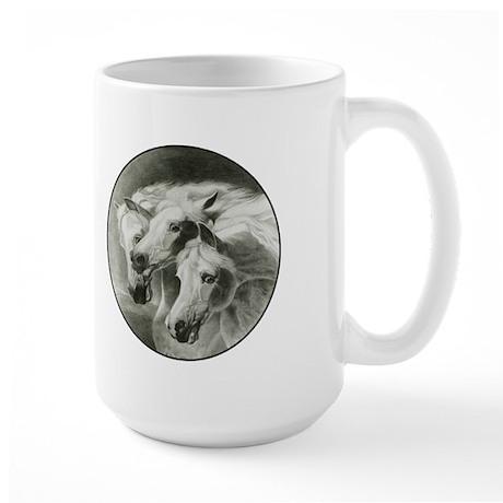 Pharaoh's Horses Large Mug