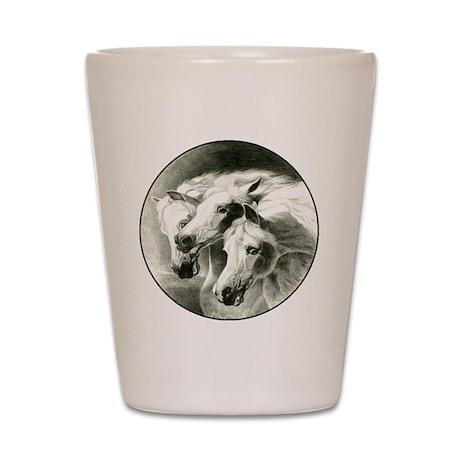 Pharaoh's Horses Shot Glass