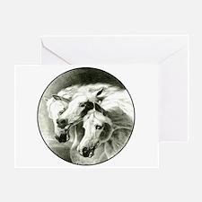 Pharaoh's Horses Greeting Card