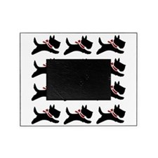 Holiday Scotties Picture Frame