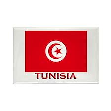 Tunisia Flag Merchandise Rectangle Magnet