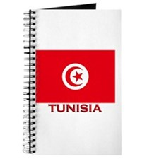 Tunisia Flag Merchandise Journal