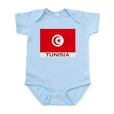 Tunisia Flag Merchandise Infant Creeper