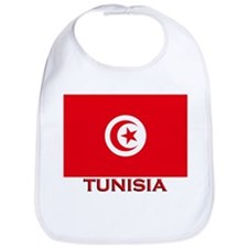 Tunisia Flag Merchandise Bib