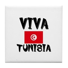 Viva Tunisia Tile Coaster