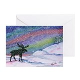 Northern lights Greeting Cards (10 Pack)