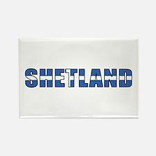 Shetland Islands Rectangle Magnet (100 pack)