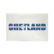 Shetland Islands Rectangle Magnet