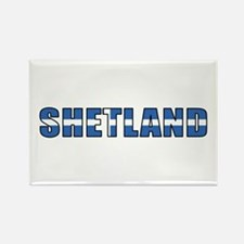 Shetland Islands Rectangle Magnet
