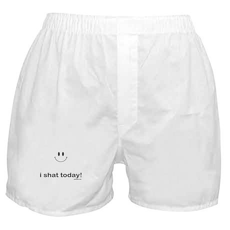i shat today Boxer Shorts