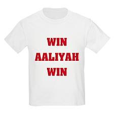 WIN AALIYAH WIN Kids T-Shirt