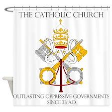 The Catholic Church Shower Curtain