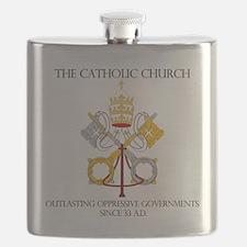 The Catholic Church Flask