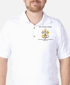 The Catholic Church Golf Shirt