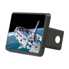 Space station orbiting Earth - Hitch Cover