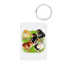 Five Chicks Keychains