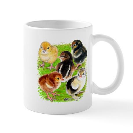 Five Chicks Mug