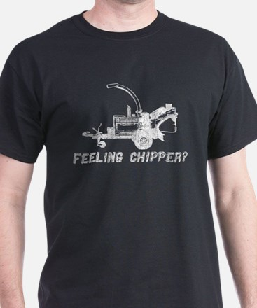 feeling chipper white T-Shirt