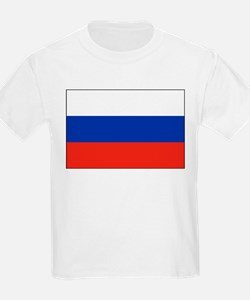 Russia - National Flag - Current T-Shirt
