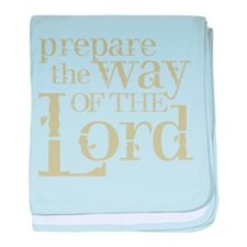 Prepare the Way of the Lord baby blanket