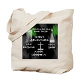 Ghost adventures Canvas Bags