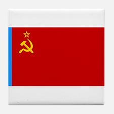 Russia - National Flag - 1954-1991 Tile Coaster