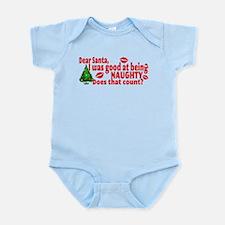 Naughty Christmas Infant Bodysuit