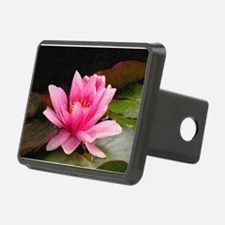 Pink Water Lily Hitch Cover