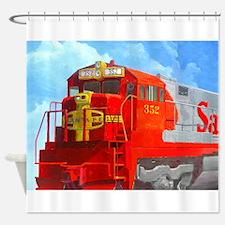 SANTA FE LOCO #352 Shower Curtain