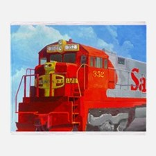SANTA FE LOCO #352 Throw Blanket