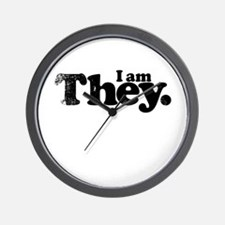 I am They. Wall Clock