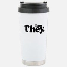 I am They. Stainless Steel Travel Mug