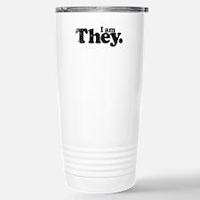 I am They. Travel Mug