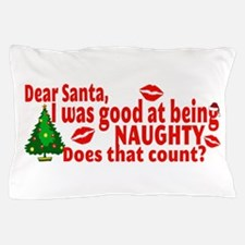 Naughty Christmas Pillow Case