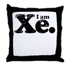I am Xe. Throw Pillow