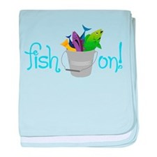 Fish On baby blanket