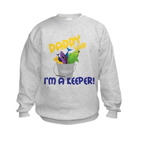 Im A Keeper Kids Sweatshirt