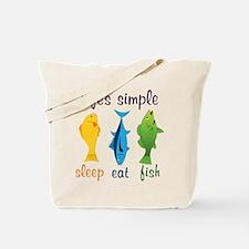 Lifes Simple Tote Bag